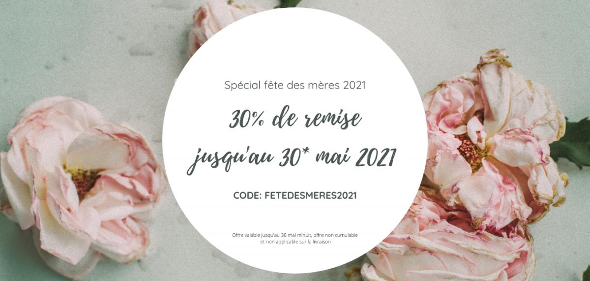30% de remise jusqu'au 30_ mai 2021